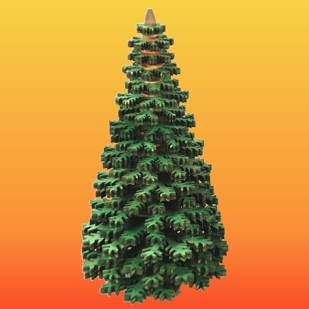 Lenk & Sohn Erzgebirgischer Schichtenbaum Nadelbaum 10cm grün