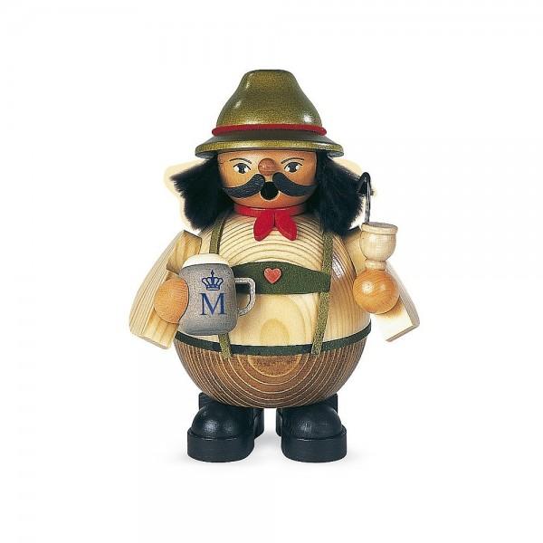 Müller Räuchermann klein Bayer auf dem Oktoberfest 14cm