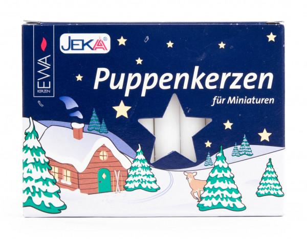 Dregeno Erzgebirge - Puppenlichte 10mm, weiß (20)