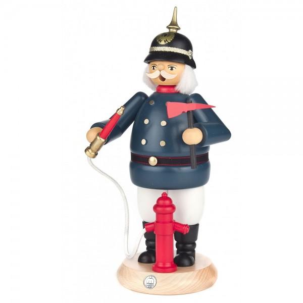 Dregeno Erzgebirge - Räuchermann Feuerwehrmann in historischer Uniform - 25cm