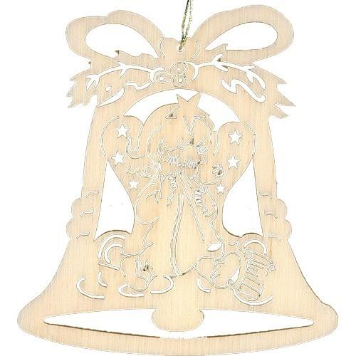 Lenk & Sohn Baumbehang Glocke Motiv Engel