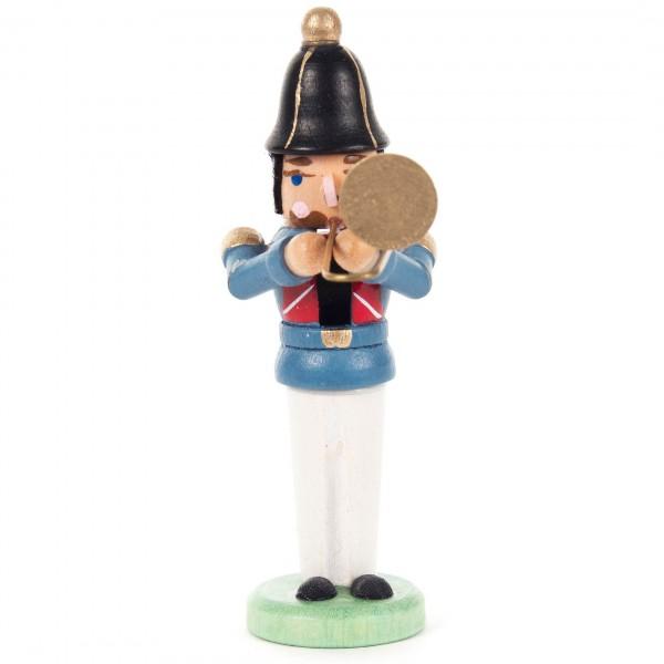 Dregeno Erzgebirge - Miniatur-Nussknacker Musiker mit Posaune