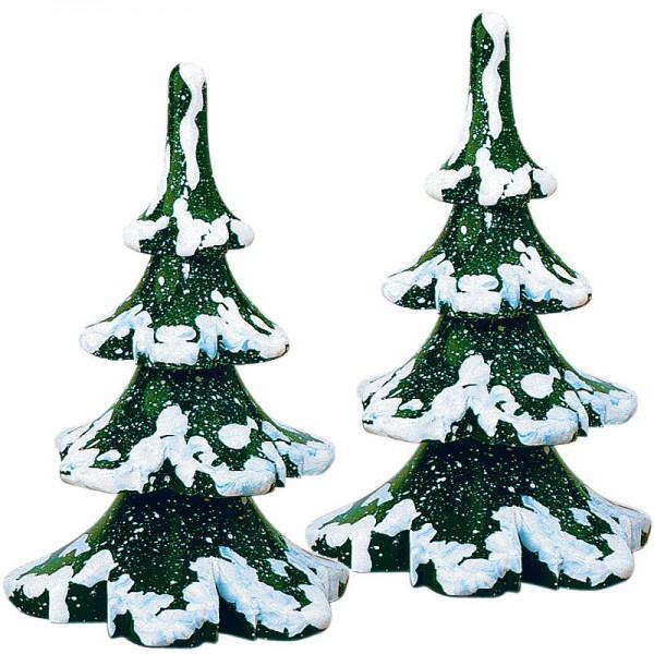 Hubrig Winterkinder 2er Set Winterbaum mittel - 8cm
