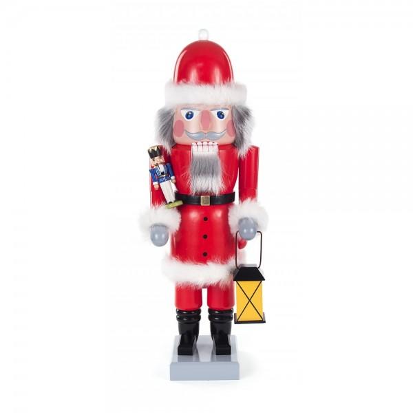 Dregeno Erzgebirge - Nussknacker Weihnachtsmann - 40cm