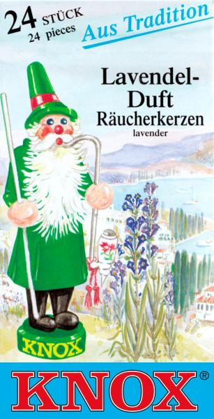 Dregeno Erzgebirge - KNOX Räucherkerzen Lavendel (24)