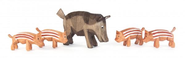 Dregeno Erzgebirge - Wildschweinfamilie (5)