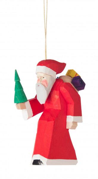 Dregeno Erzgebirge - Behang Weihnachtsmann, geschnitzt