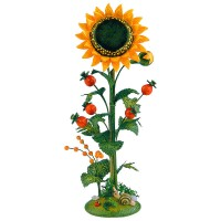 Hubrig Blumeninsel Sonnenblume 24cm