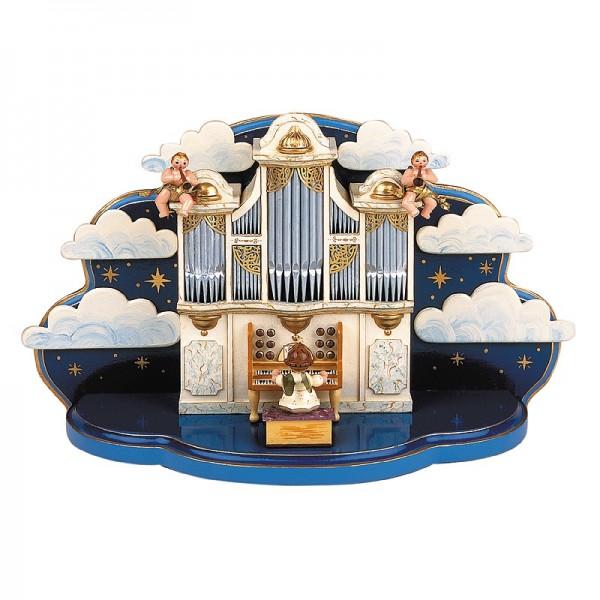 Hubrig Orgel mit kleiner Wolke mit Musikwerk 36x13x21cm