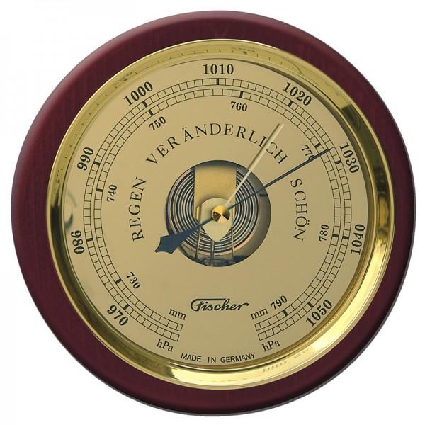 Fischer Barometer Pascal mit Holzgehäuse 240mm