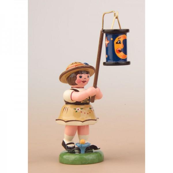 Hubrig Lampionkinder Mädchen mit blauen Mondlampion