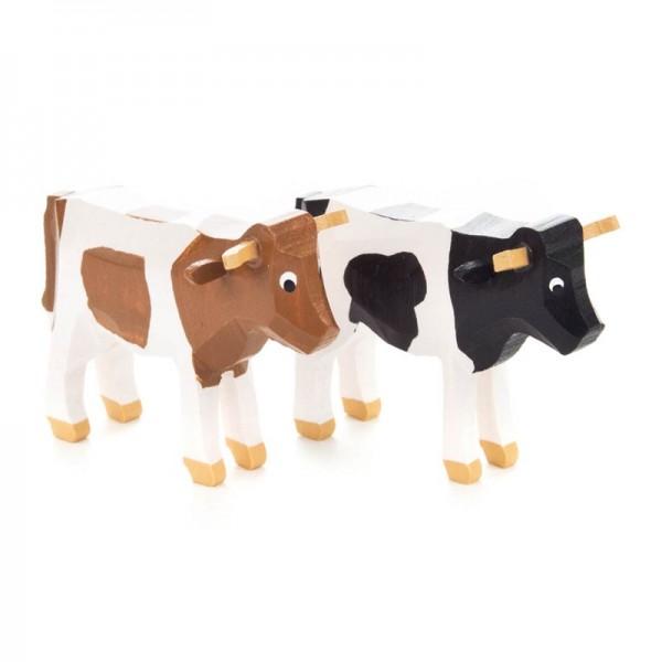 Dregeno Erzgebirge - Miniatur-Kuh sortiert, Stück