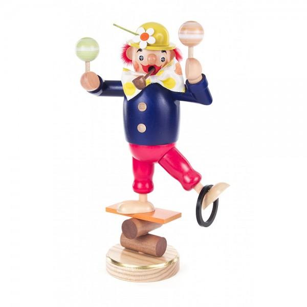 Dregeno Erzgebirge - Räuchermann Clown