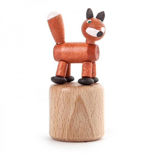 Dregeno Erzgebirge - Miniatur-Wackeltier Fuchs