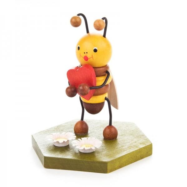 Dregeno Erzgebirge - Biene mit Herz