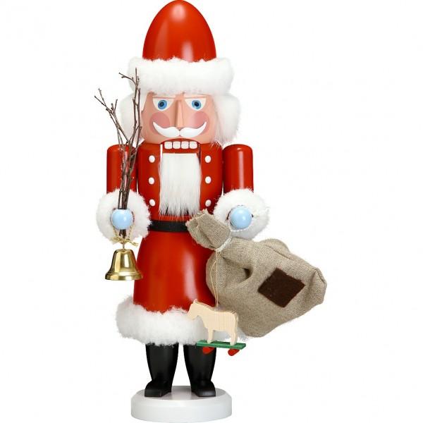 Seiffener Volkskunst Nussknacker Gross - Weihnachtsmann 38cm