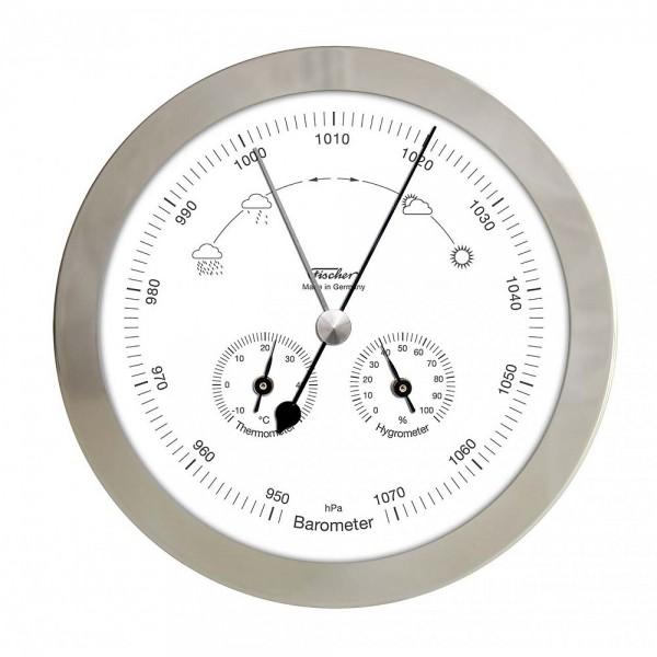 Fischer Wetterstation Edelstahl 160mm im Edelstahlgehäuse