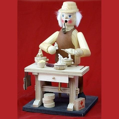 HELA Räuchermann Spieldosenhersteller mit Spielwerk