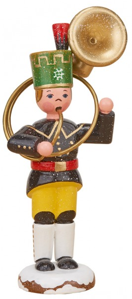 Hubrig Winterkinder - Bergmann mit Sousaphon