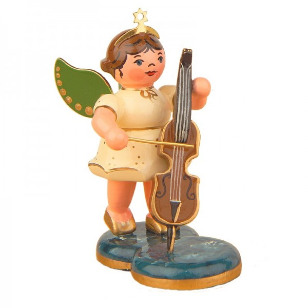 Hubrig Engel mit Cello 6,5cm