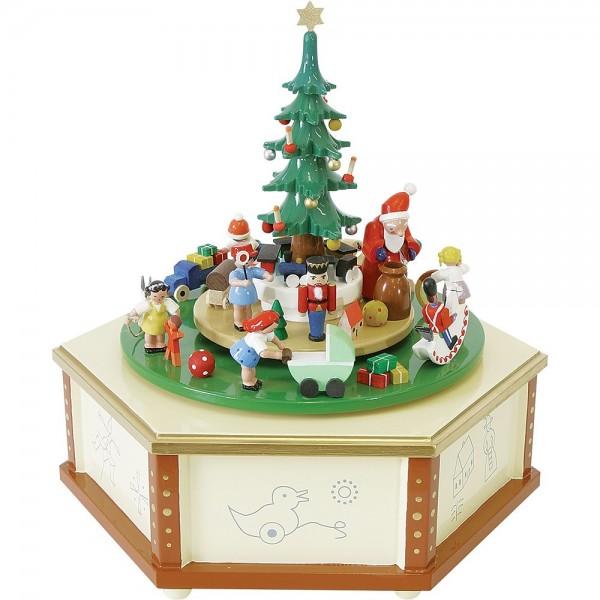 Richard Glässer Spieldose Weihnachtsbescherung