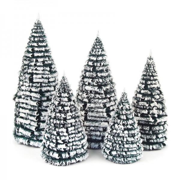 Dregeno Erzgebirge - Miniatur-Rauhreifbäume, Satz 8-16 cm, 5-teilig