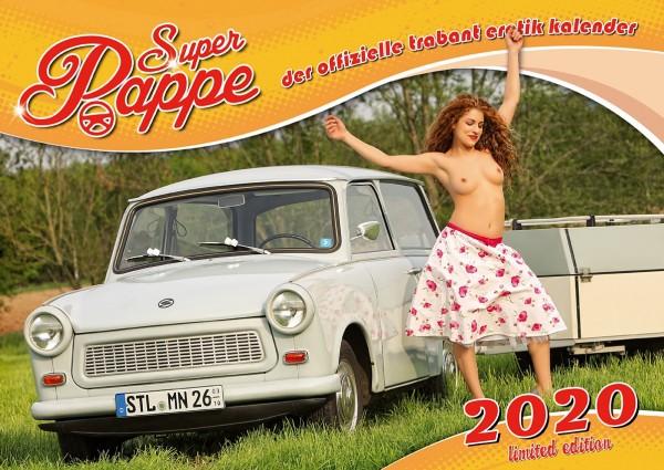 Der offizielle erotische DDR Trabant Kalender - Super Pappe 2020