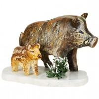 Hubrig Neuheit 2014 - Winterkinder Wildschweine