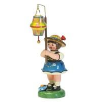 Hubrig Lampionkinder Mädchen mit kegelförmigen Lampion