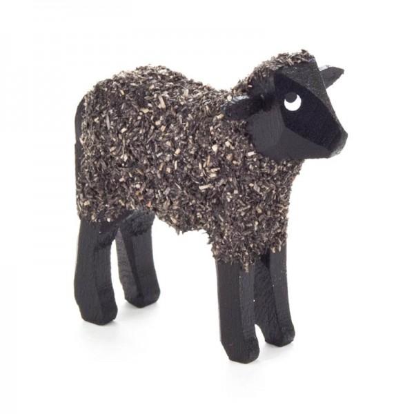Dregeno Erzgebirge - Miniatur-Schaf, schwarz