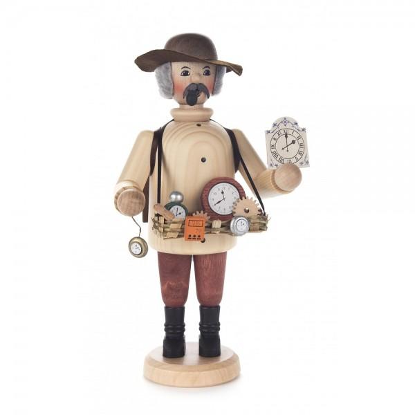 Dregeno Erzgebirge - Räuchermann Uhrenhändler - 20cm