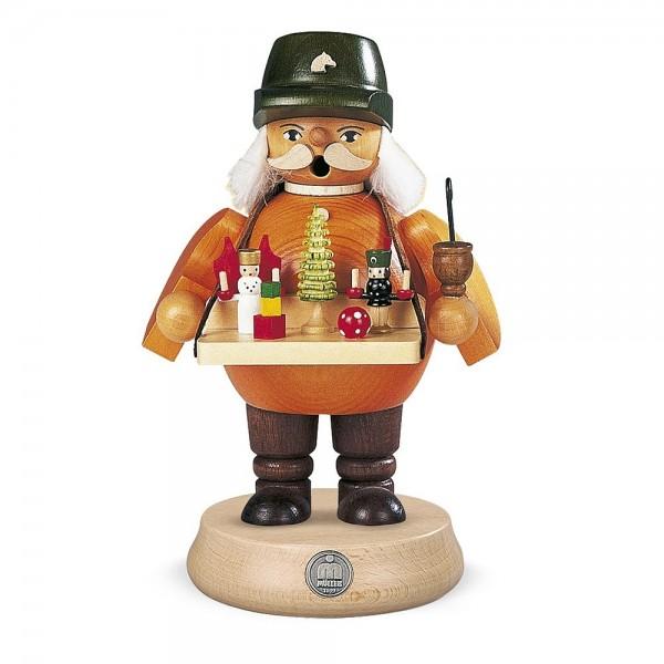 Müller Räuchermann mittelgroß Spielwarenverkäufer 18cm