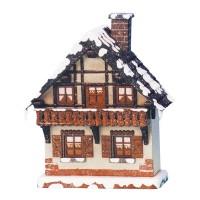 Hubrig Winterhaus Balkon