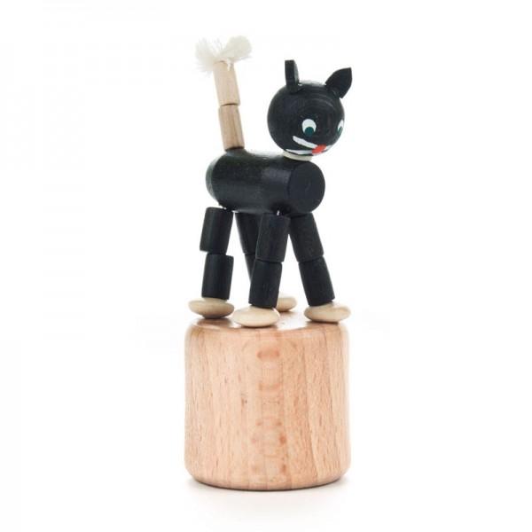 Dregeno Erzgebirge - Miniatur-Wackeltier Katze