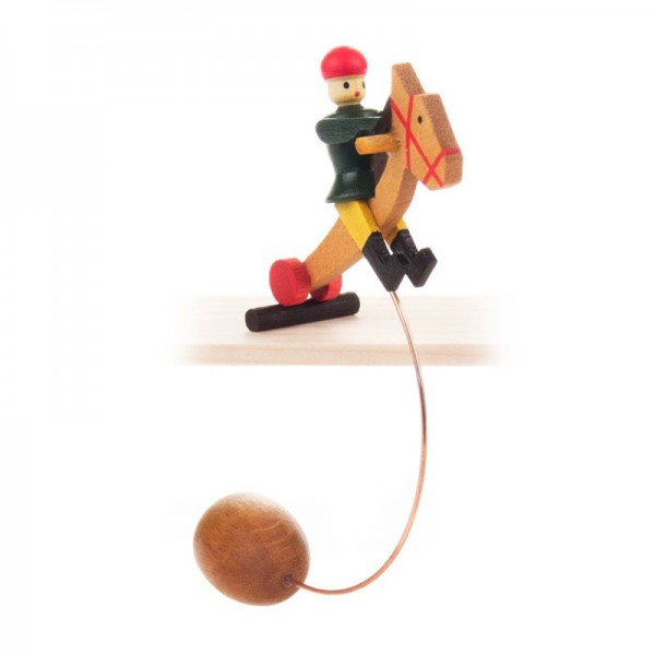 Dregeno Erzgebirge - Miniatur-Schaukelreiter sortiert