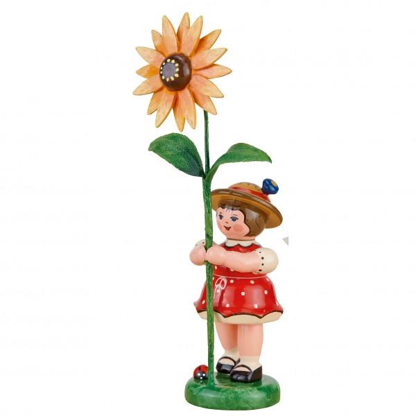 Hubrig Neuheit 2017 - Blumenmädchen mit Sonnenhut