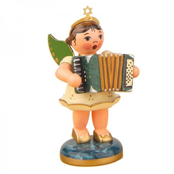 Hubrig Engel mit Akkordeon 6,5cm