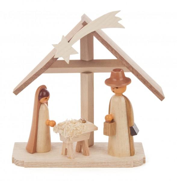 Dregeno Erzgebirge - Christi Geburt klein, natur