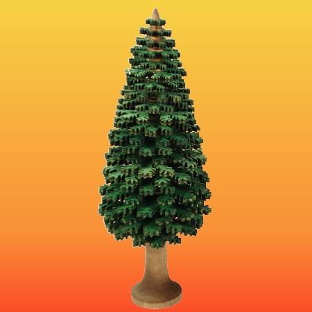 Lenk & Sohn Erzgebirgischer Schichtenbaum Nadelbaum 16cm grün