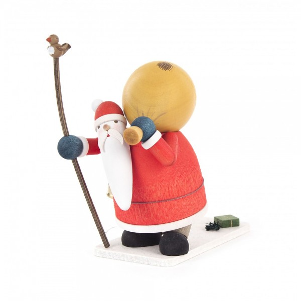 Dregeno Erzgebirge - Miniatur Knecht Ruprecht, bunt - 10cm