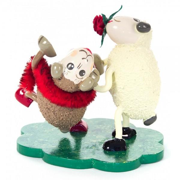 Dregeno Erzgebirge - Schaf-Tanzpaar Jonny und Baby