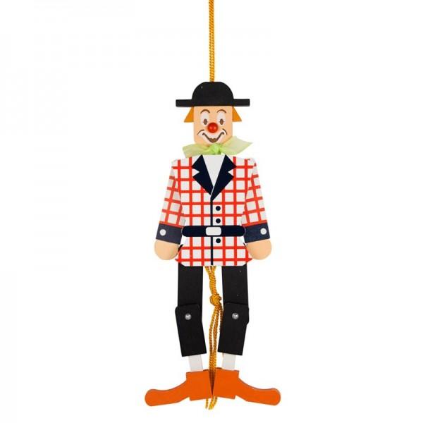 Dregeno Erzgebirge - Miniatur-Hampelmann Clown