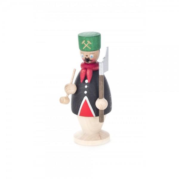 Dregeno Erzgebirge - Miniatur-Räuchermann Bergmann - 9cm