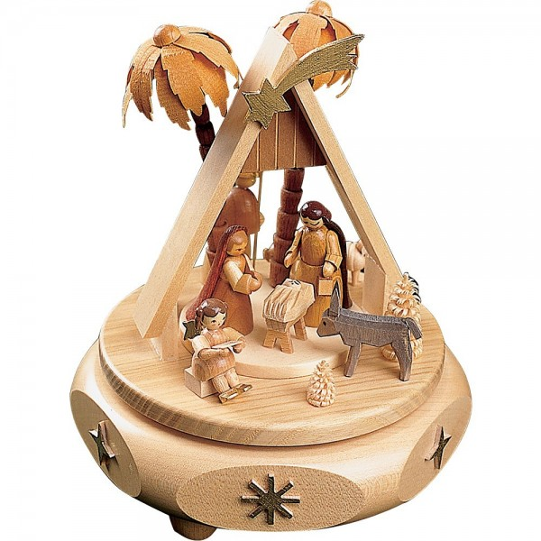 Richard Glässer Spieldose Christi Geburt