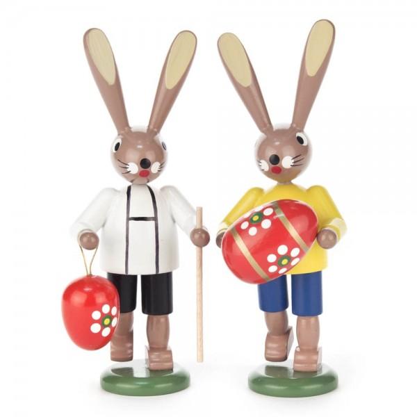 Dregeno Erzgebirge - Hasenpaar mit Eier