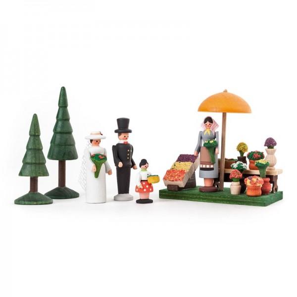 Dregeno Erzgebirge - Miniatur-Blumenmarkt
