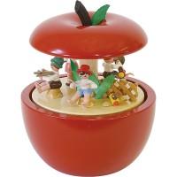 Richard Glässer Spieldose Apfel Kinderkonzert