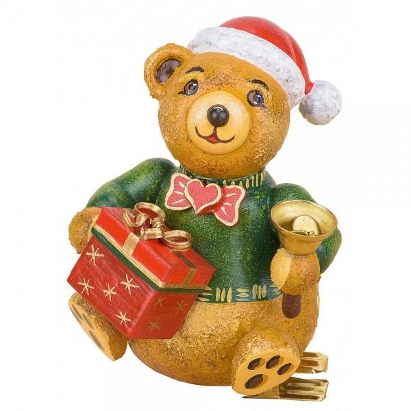 Hubrig Neuheit 2016 - Baumclipser Teddy Weihnachtsbärli