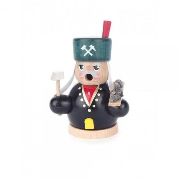 Dregeno Erzgebirge - Miniatur-Räuchermann Bergmann - 8cm