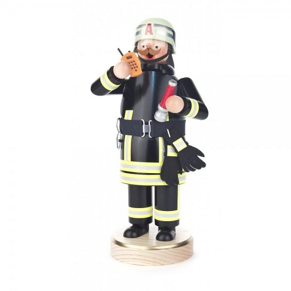Dregeno Erzgebirge - Räuchermann Feuerwehrmann in moderner Uniform - 23cm